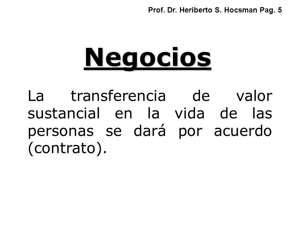 Prof. Dr. Heriberto S. Hocsman Pag. 5