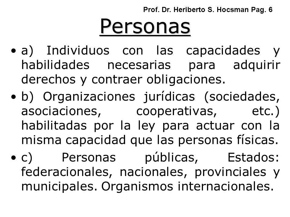 Prof. Dr. Heriberto S. Hocsman Pag. 6