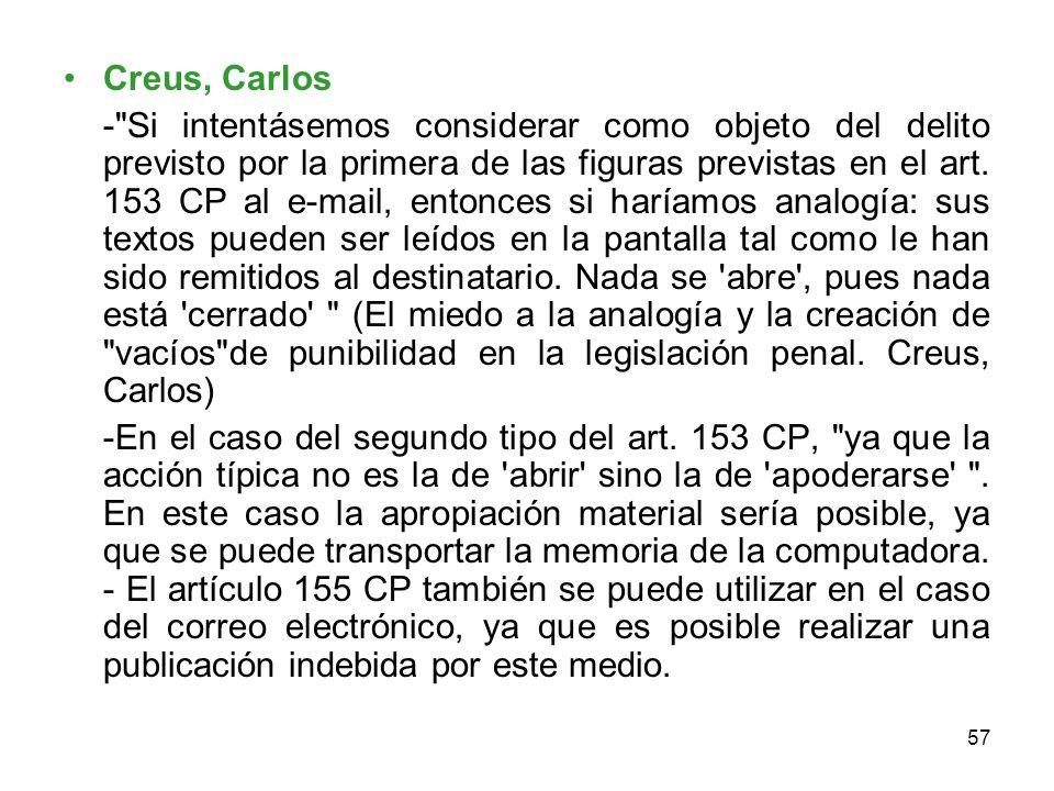 Creus, Carlos