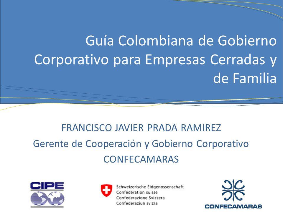 Guía Colombiana de Gobierno Corporativo para Empresas Cerradas y de Familia