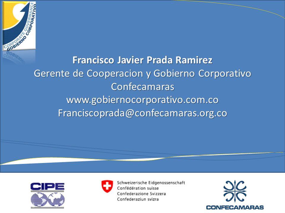 Francisco Javier Prada Ramirez