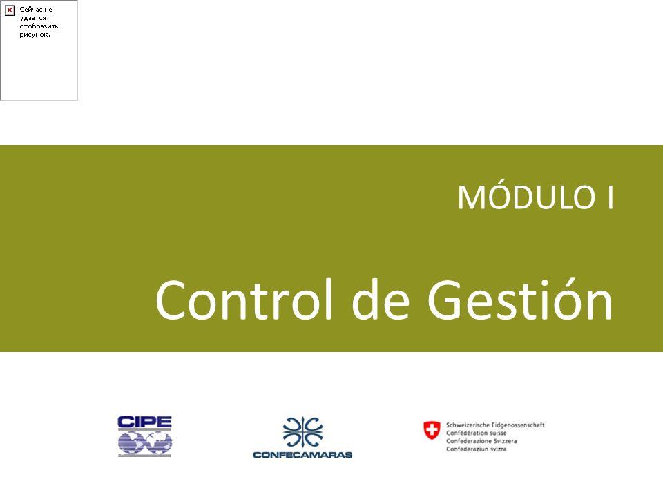 MÓDULO I Control de Gestión Modulo I Control de Gestión