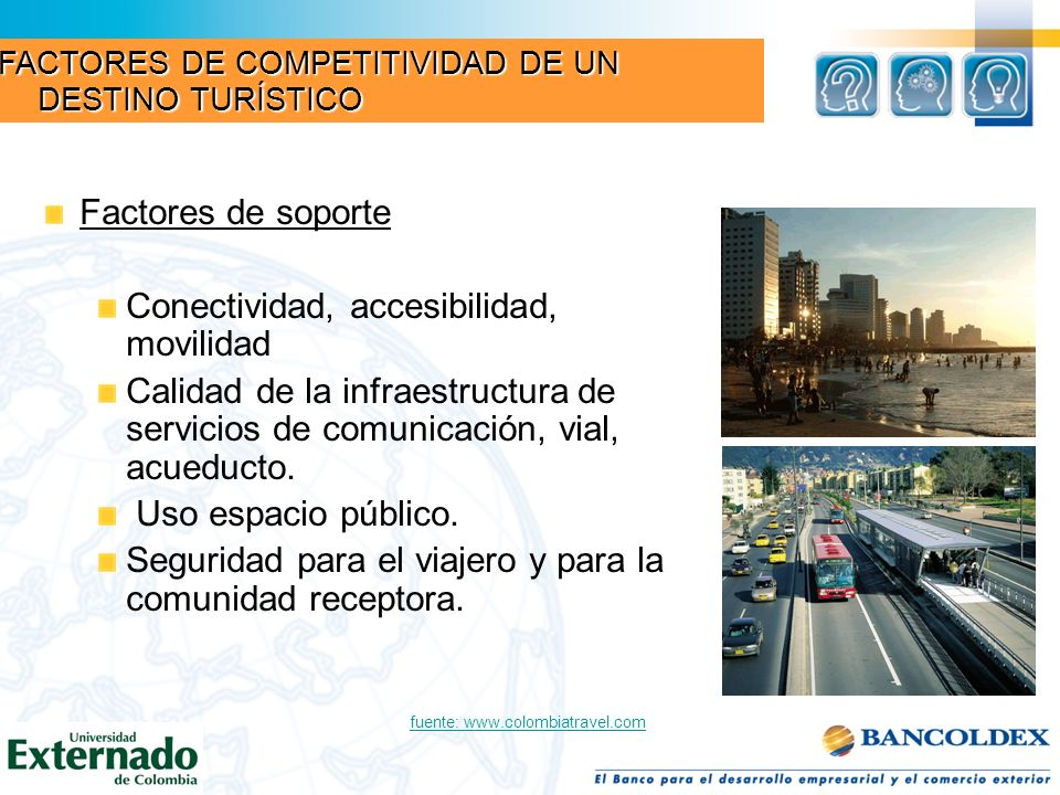 Conectividad, accesibilidad, movilidad