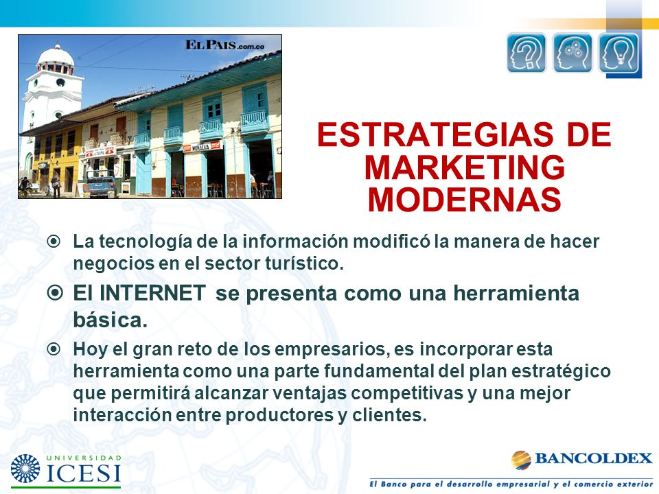 ESTRATEGIAS DE MARKETING MODERNAS