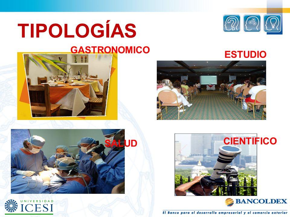 TIPOLOGÍAS GASTRONOMICO ESTUDIO CIENTIFICO SALUD