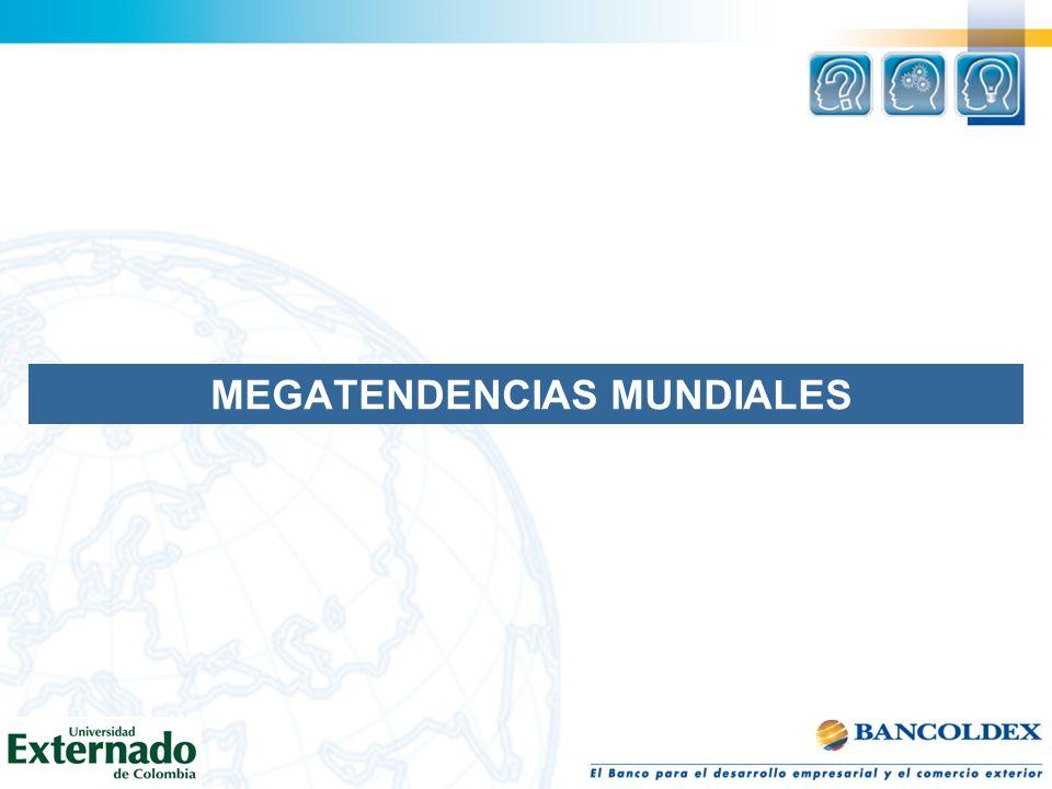 MEGATENDENCIAS MUNDIALES