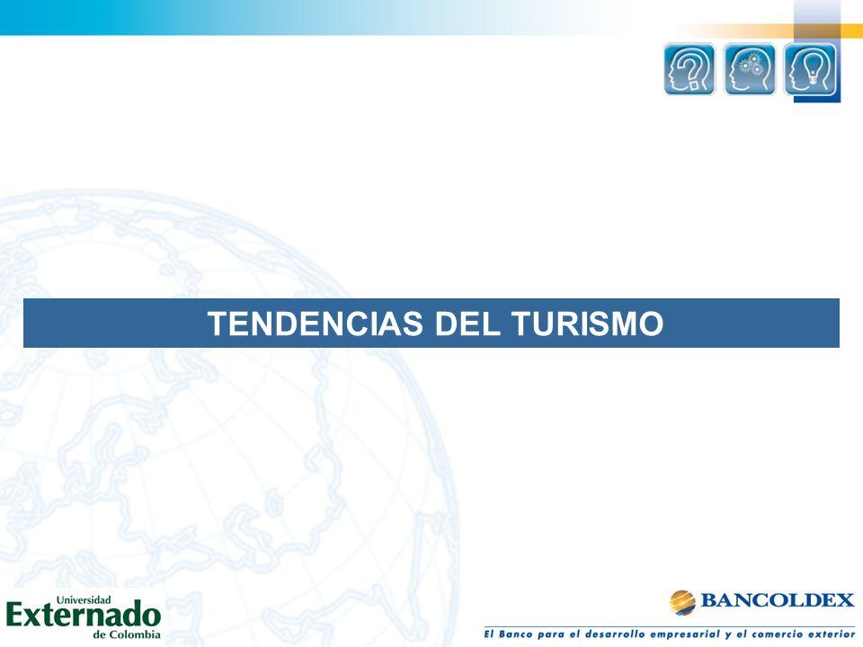 TENDENCIAS DEL TURISMO