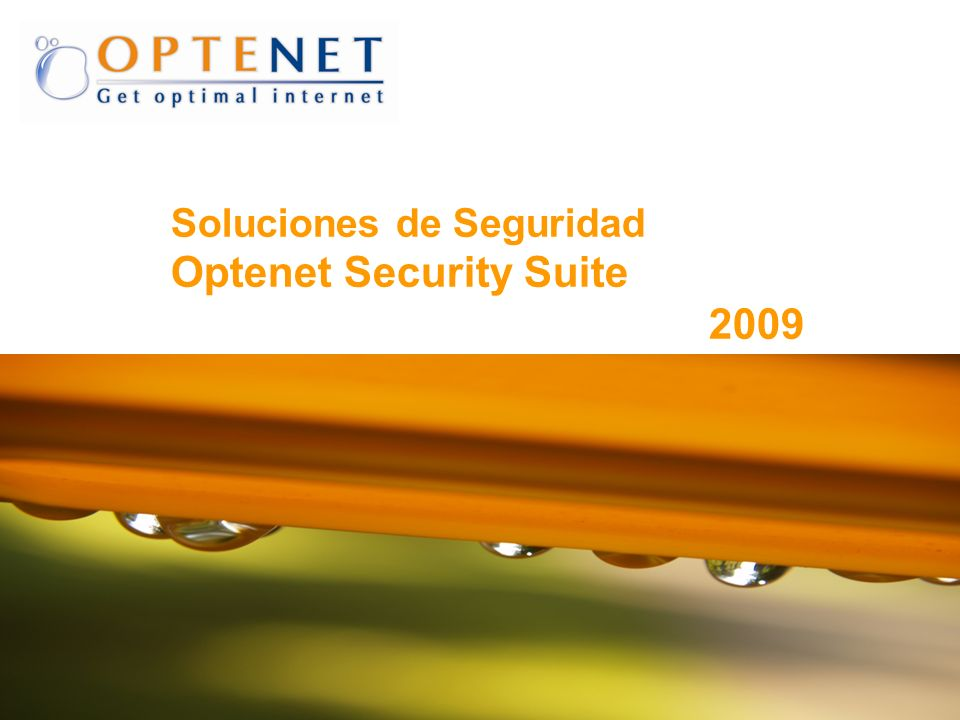 Optenet Security Suite 2009