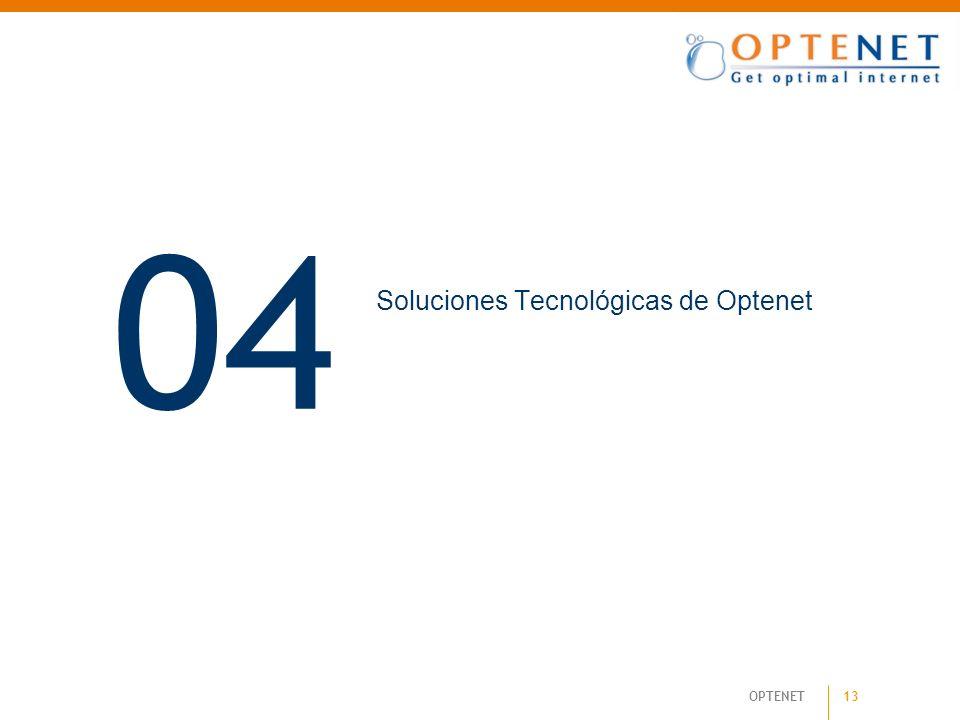 Soluciones Tecnológicas de Optenet