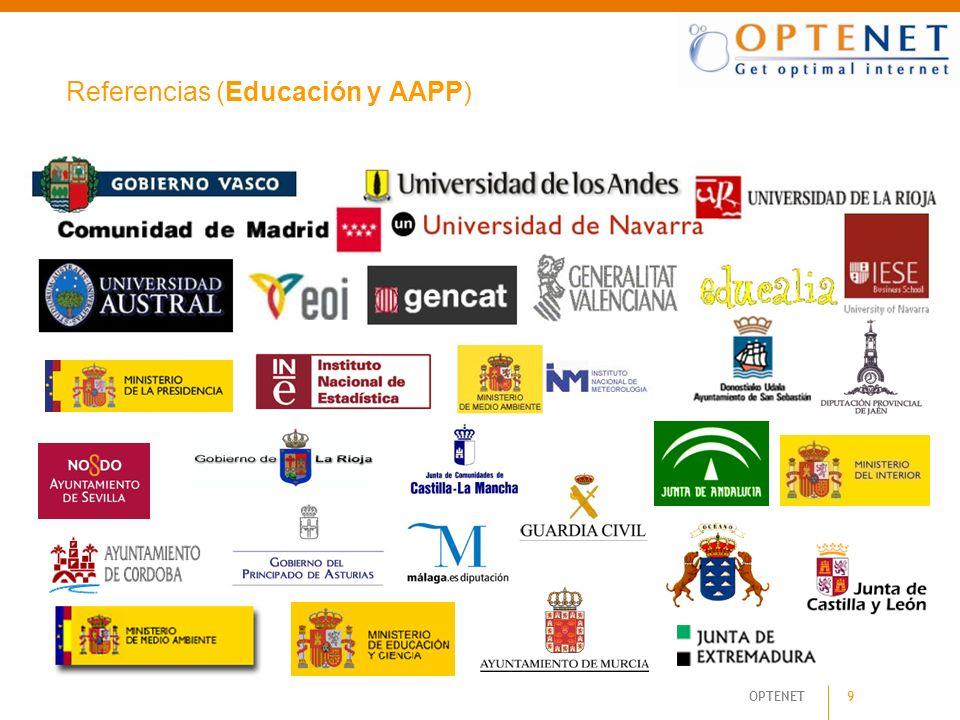 Referencias (Educación y AAPP)