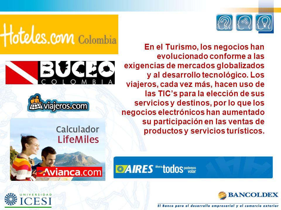 En el Turismo, los negocios han evolucionado conforme a las exigencias de mercados globalizados y al desarrollo tecnológico.