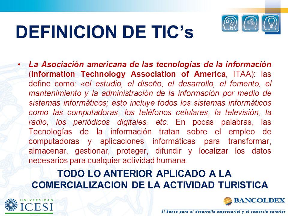 DEFINICION DE TIC's