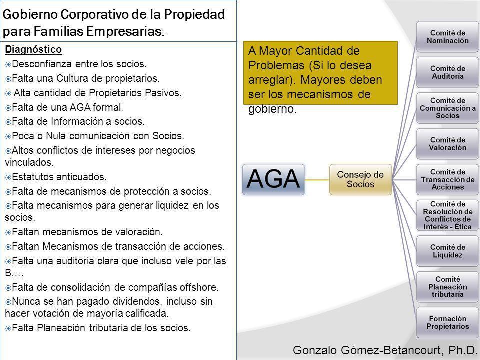 Gobierno Corporativo de la Propiedad para Familias Empresarias.