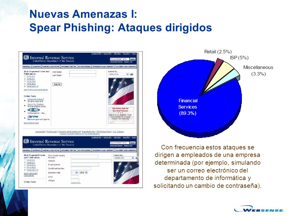 Nuevas Amenazas I: Spear Phishing: Ataques dirigidos