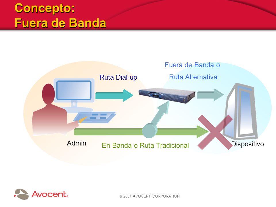 Concepto: Fuera de Banda