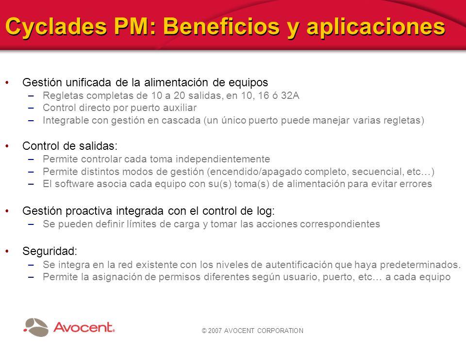 Cyclades PM: Beneficios y aplicaciones