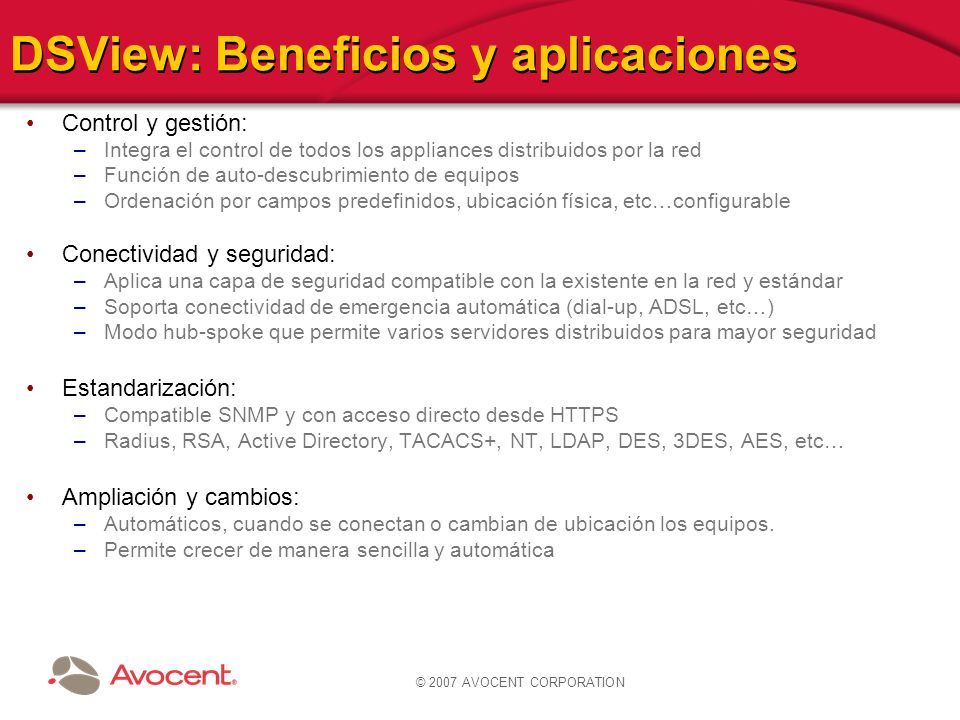 DSView: Beneficios y aplicaciones