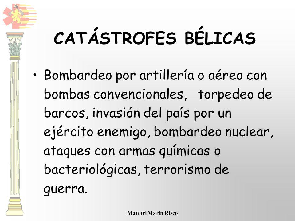 CATÁSTROFES BÉLICAS