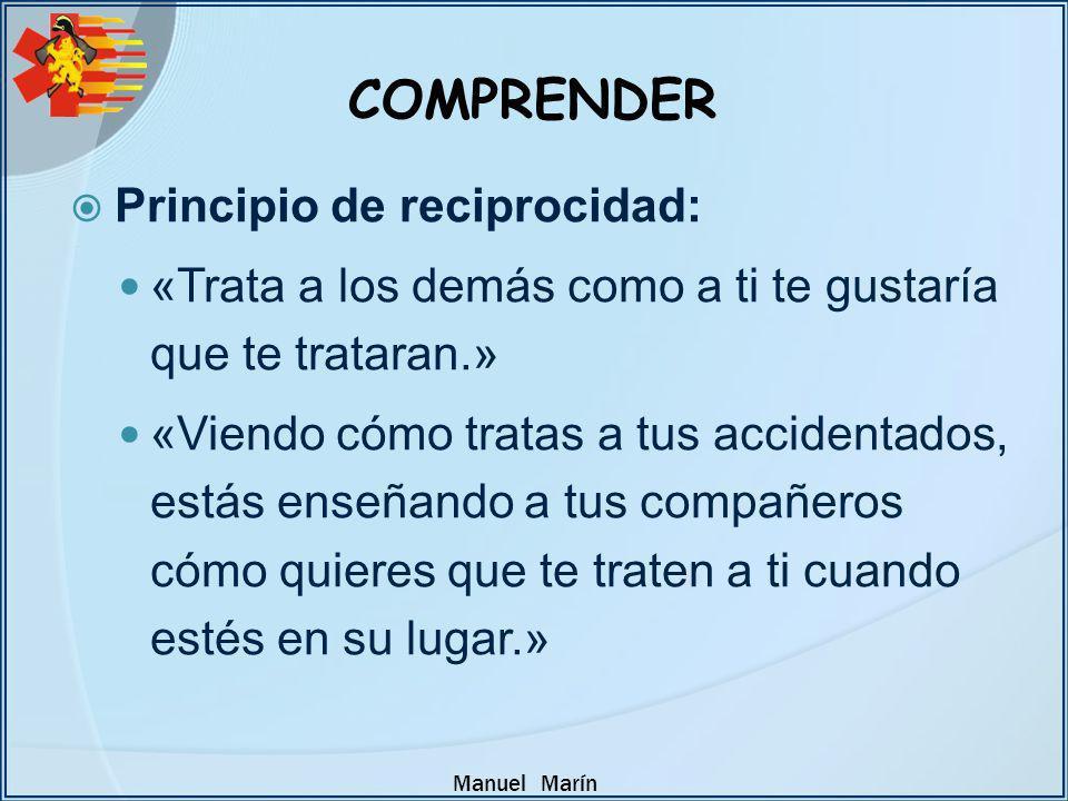 COMPRENDER Principio de reciprocidad: