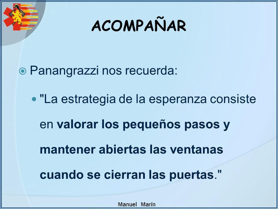 ACOMPAÑAR Panangrazzi nos recuerda: