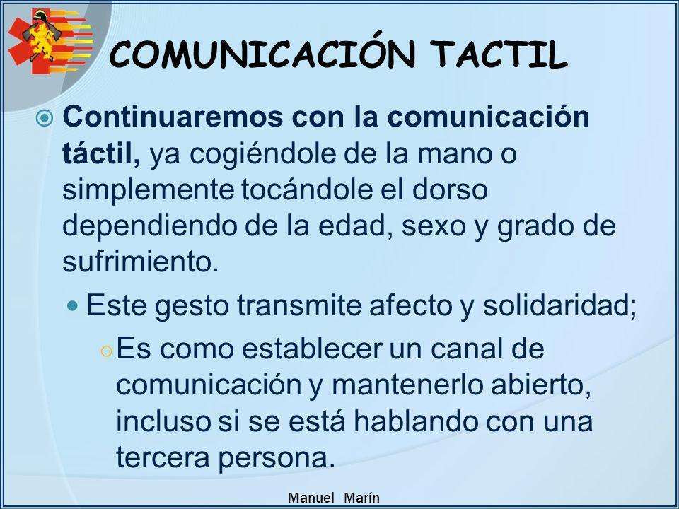 COMUNICACIÓN TACTIL