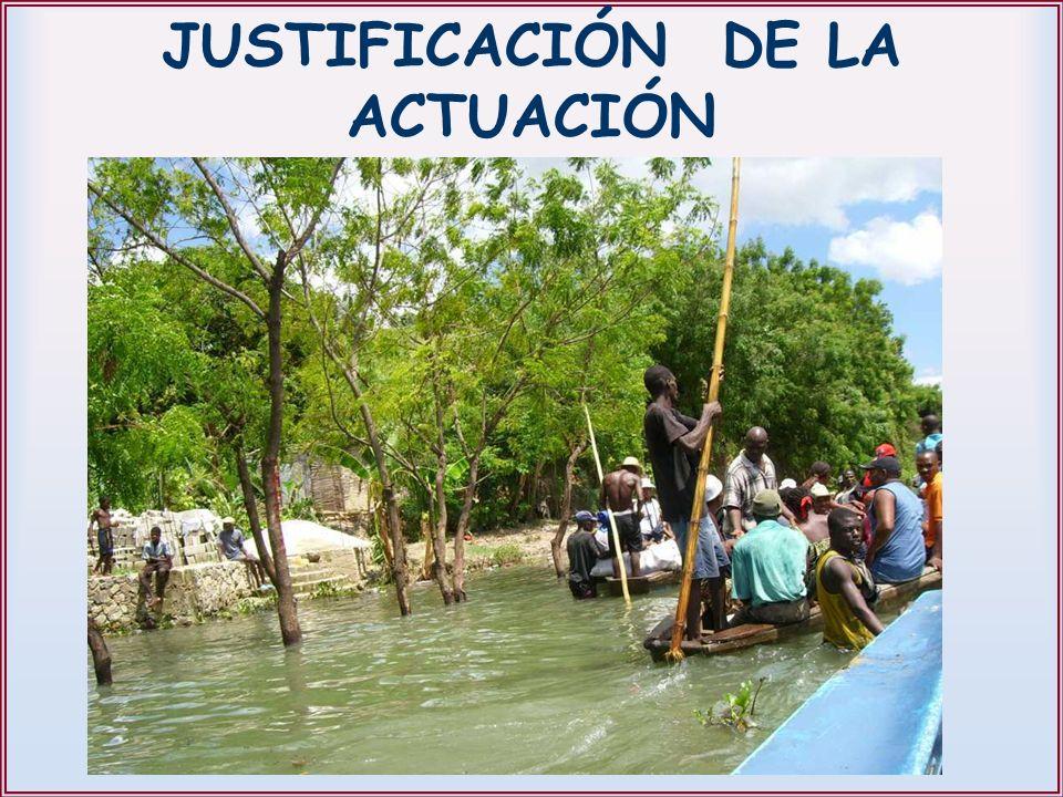 JUSTIFICACIÓN DE LA ACTUACIÓN