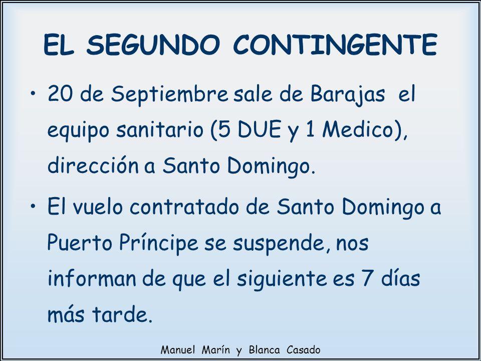 EL SEGUNDO CONTINGENTE