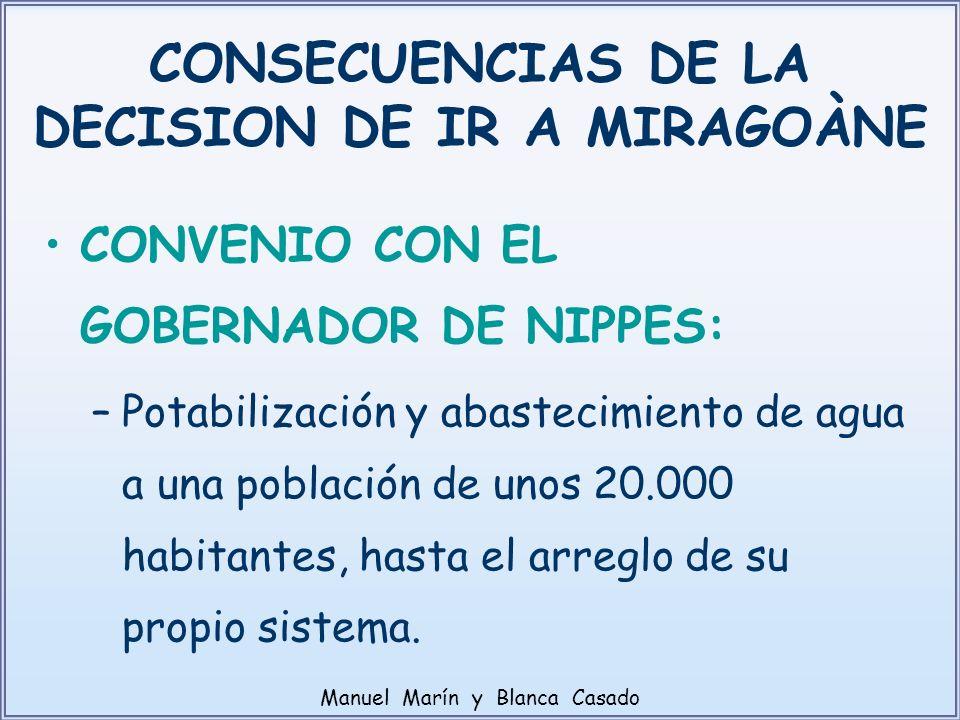 CONSECUENCIAS DE LA DECISION DE IR A MIRAGOÀNE