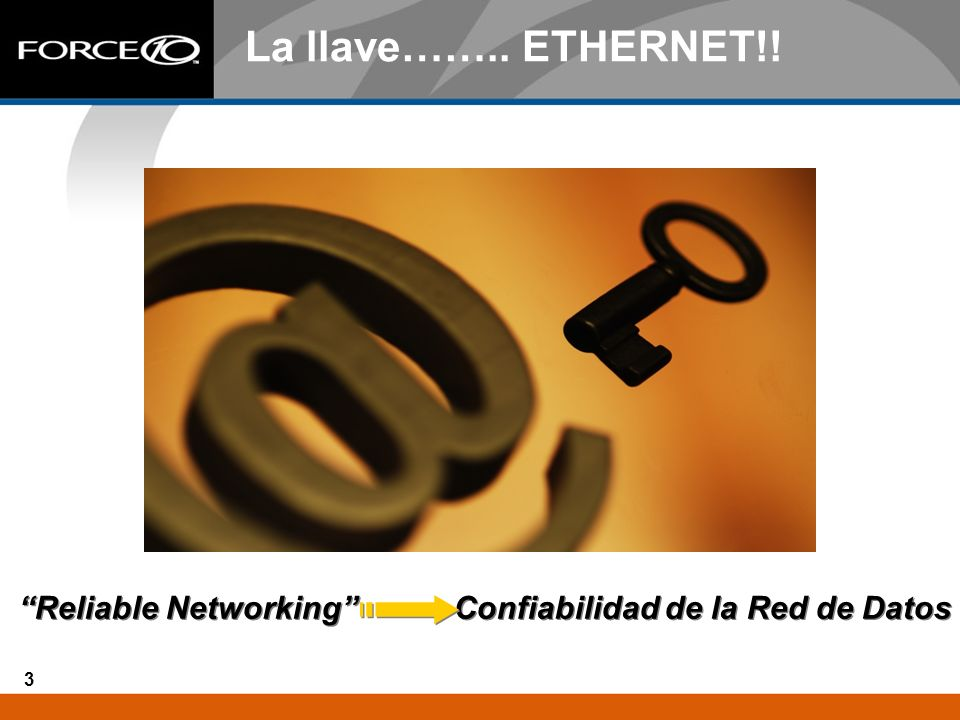 Reliable Networking Confiabilidad de la Red de Datos