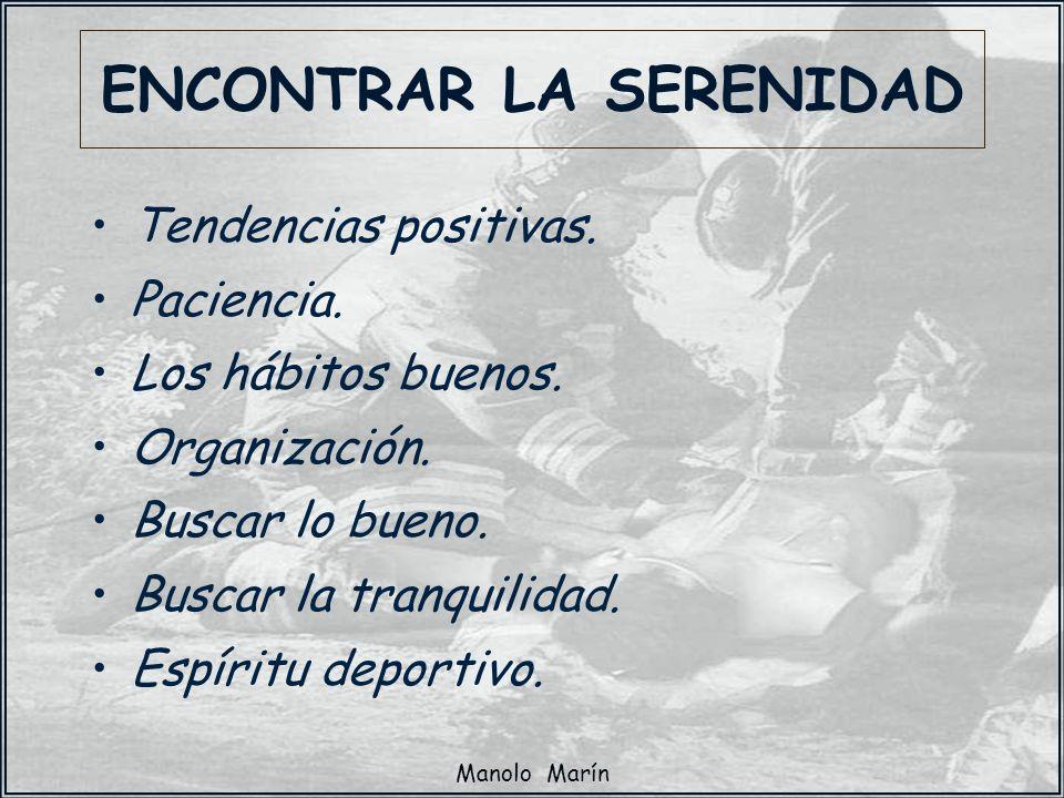 ENCONTRAR LA SERENIDAD