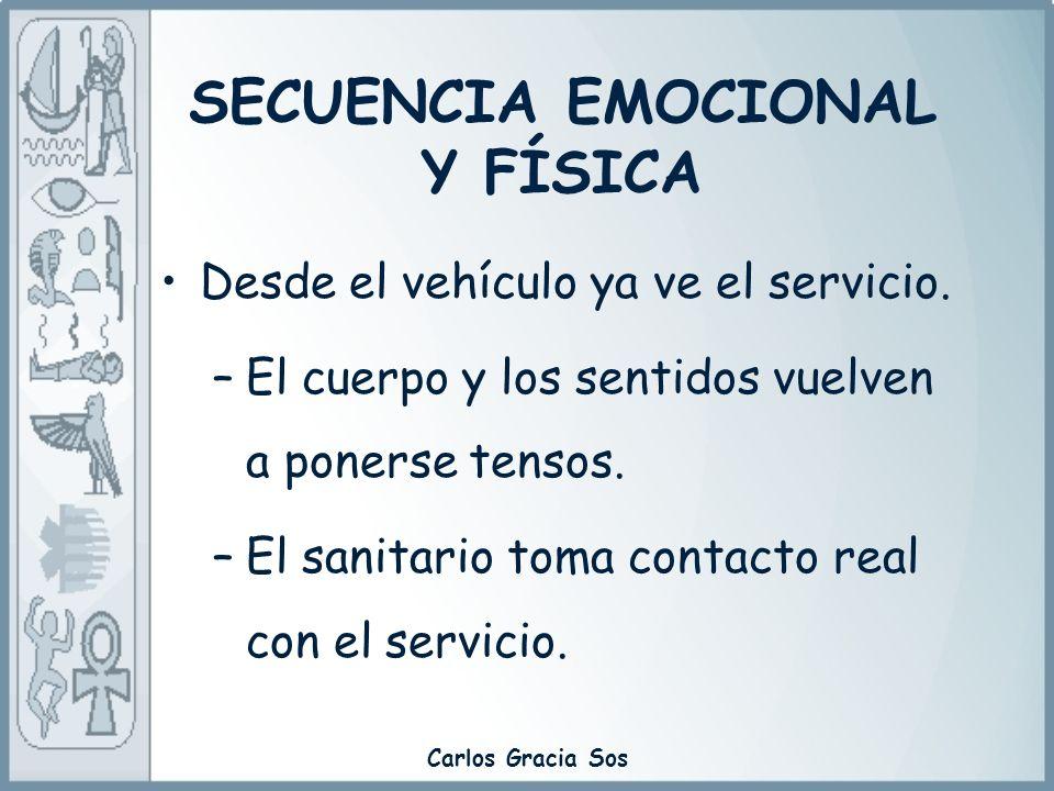 SECUENCIA EMOCIONAL Y FÍSICA