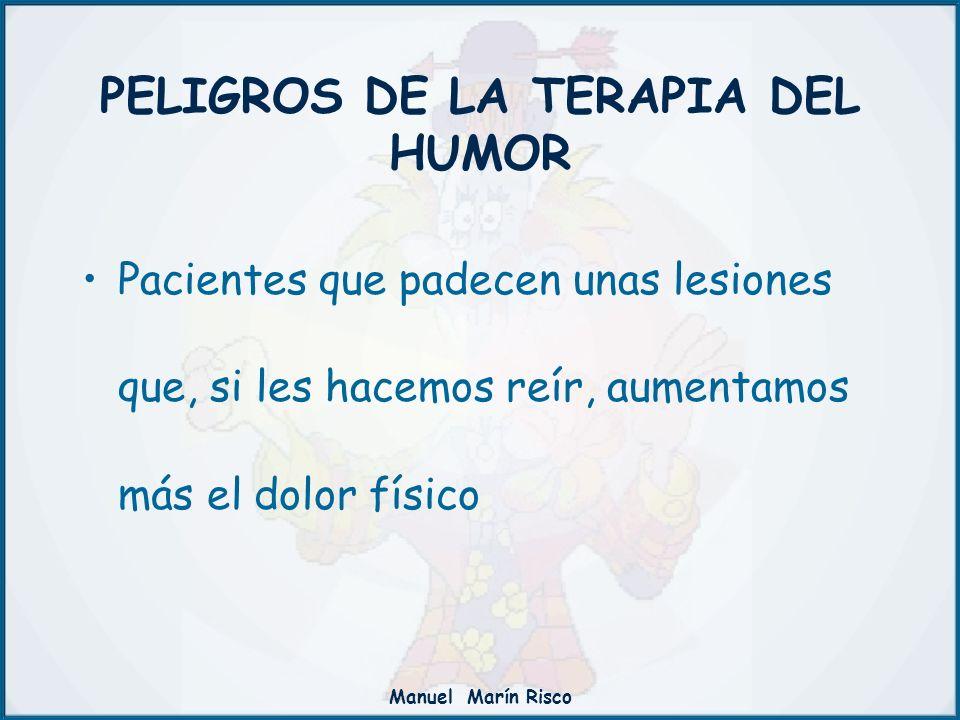 PELIGROS DE LA TERAPIA DEL HUMOR