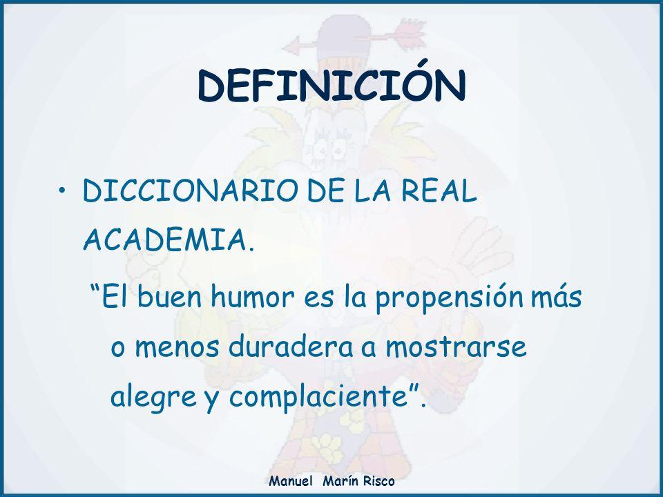DEFINICIÓN DICCIONARIO DE LA REAL ACADEMIA.