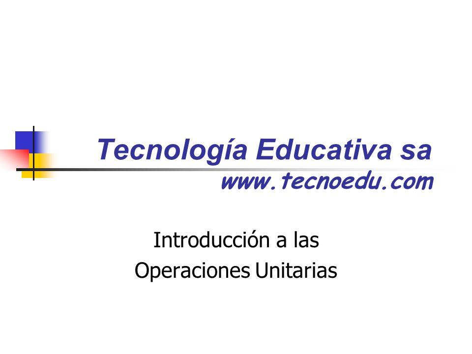 Tecnología Educativa sa www.tecnoedu.com