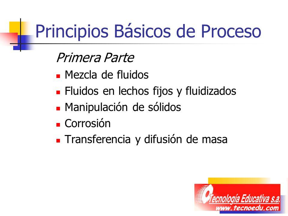 Principios Básicos de Proceso