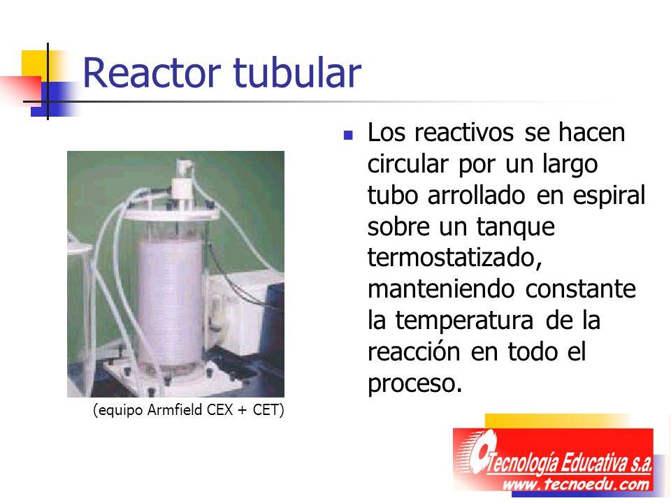Reactor tubular