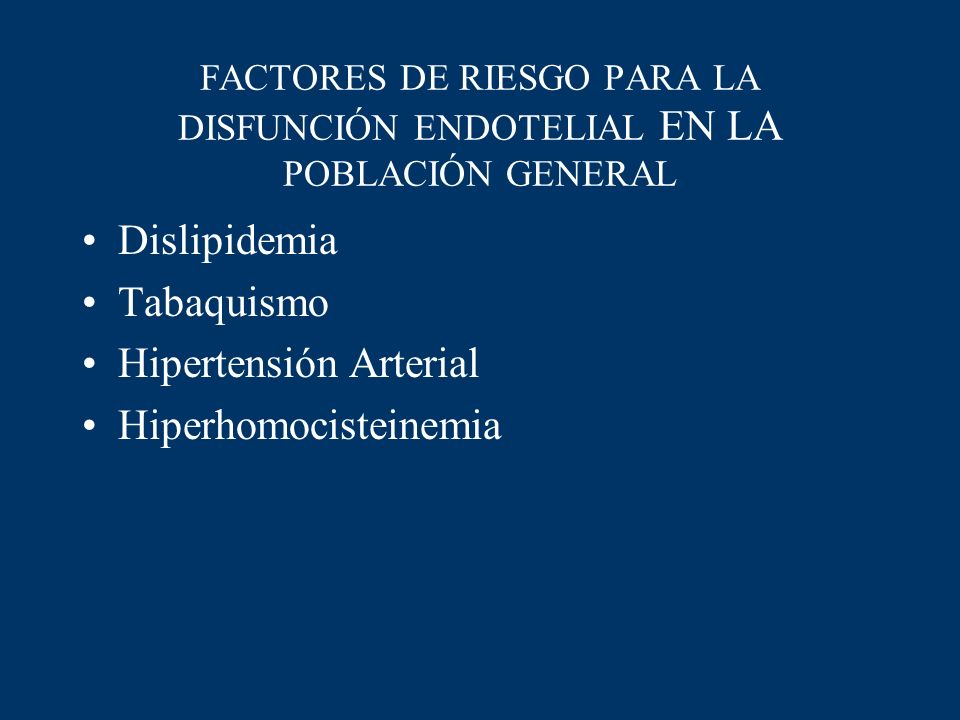 Hipertensión Arterial Hiperhomocisteinemia