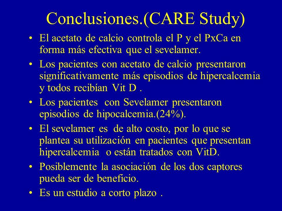 Conclusiones.(CARE Study)