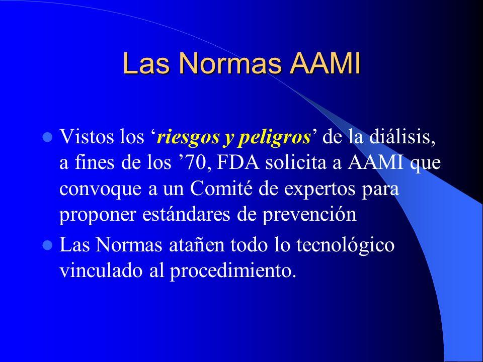 Las Normas AAMI