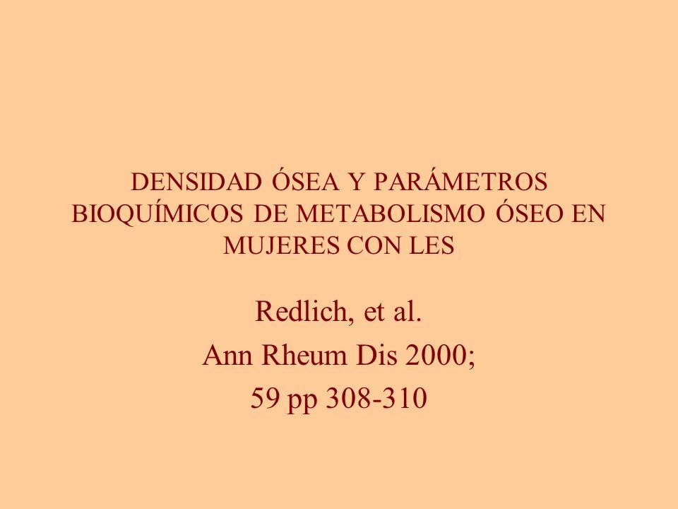 Redlich, et al. Ann Rheum Dis 2000; 59 pp 308-310