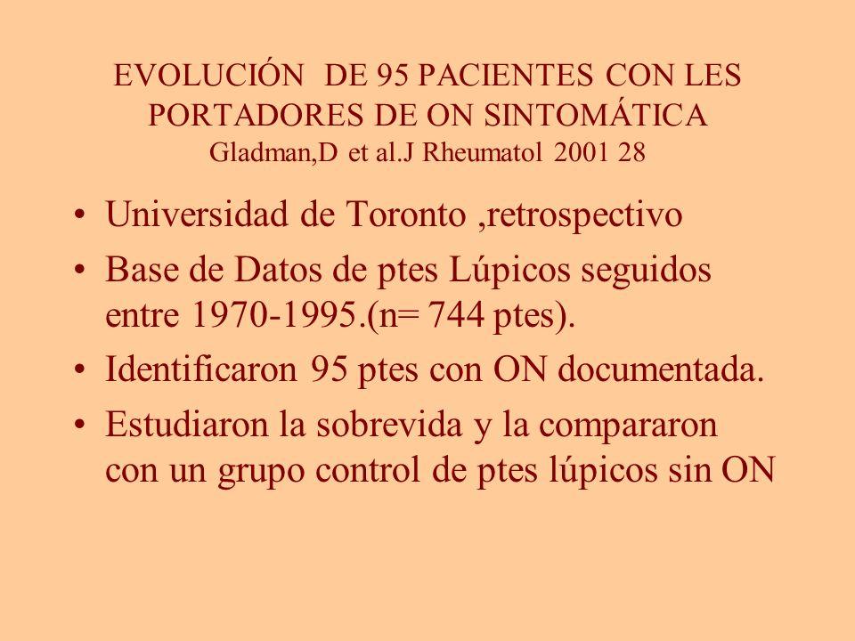 Universidad de Toronto ,retrospectivo