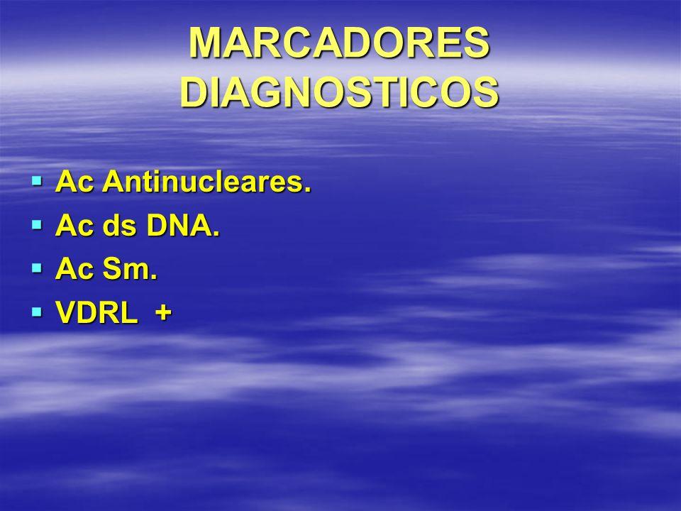 MARCADORES DIAGNOSTICOS