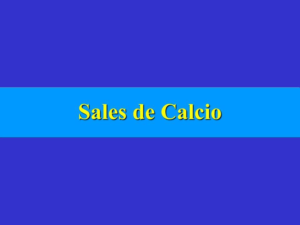Sales de Calcio
