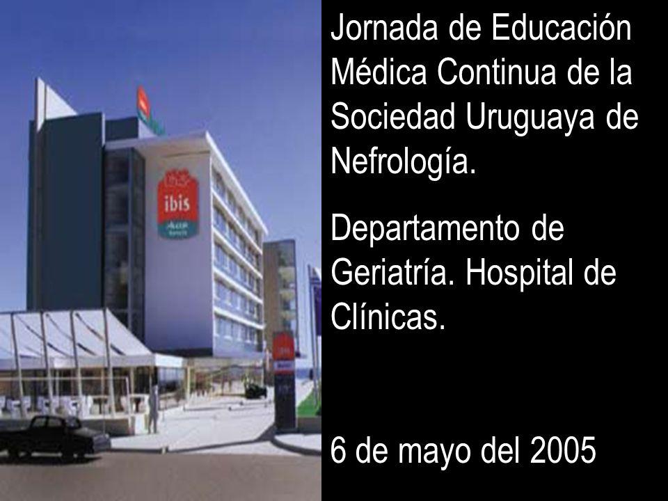 Jornada de Educación Médica Continua de la Sociedad Uruguaya de Nefrología.