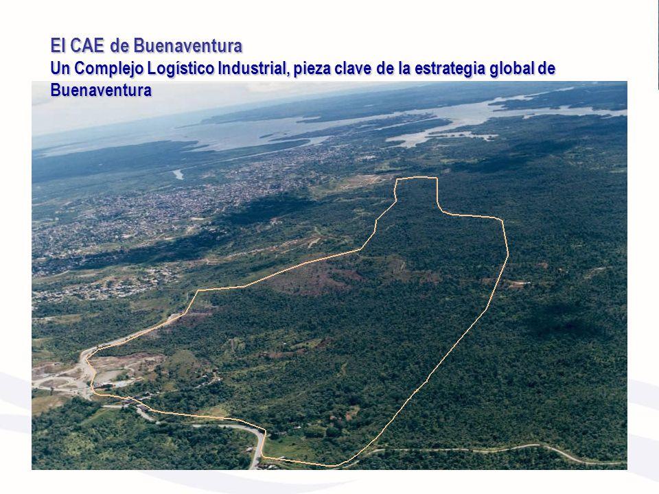El CAE de Buenaventura Un Complejo Logístico Industrial, pieza clave de la estrategia global de Buenaventura.