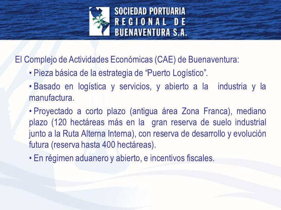El Complejo de Actividades Económicas (CAE) de Buenaventura: