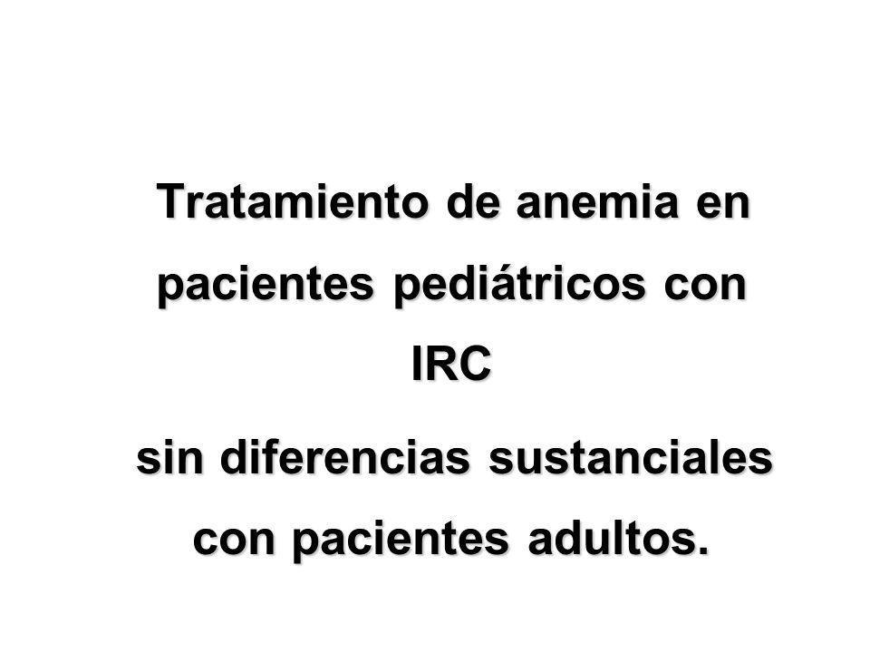 sin diferencias sustanciales con pacientes adultos.