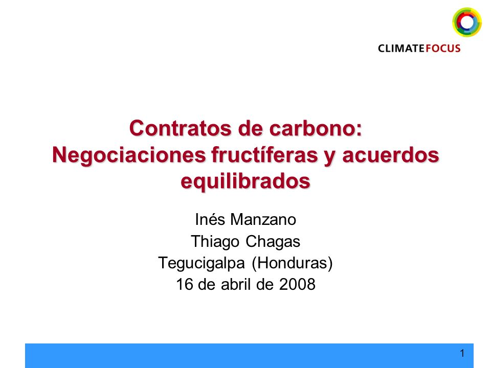 Inés Manzano Thiago Chagas Tegucigalpa (Honduras) 16 de abril de 2008