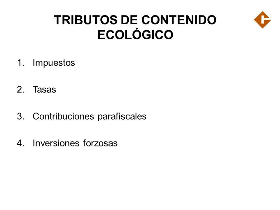 TRIBUTOS DE CONTENIDO ECOLÓGICO