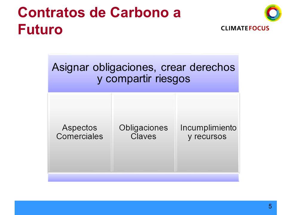 Contratos de Carbono a Futuro